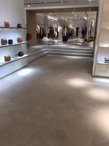 Ground, polished and sealed -Limestone